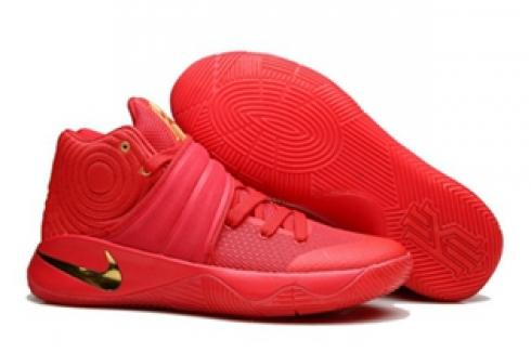 best cheap e1cb3 40675 Prev Nike Kyrie II 2 Pure Red Gold Men Shoes Basketball Sneakers 819583-010