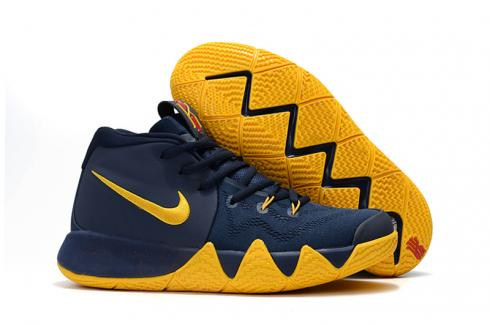 kyrie 4 blue and yellow