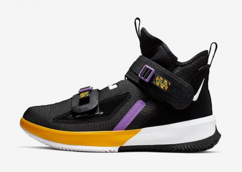 on sale 2ebe5 ae01b Nike LeBron Soldier 13 Lakers AR4228-004