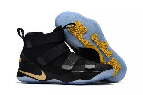 Nike Lebron James Soldier high cut basketball shoes for kids