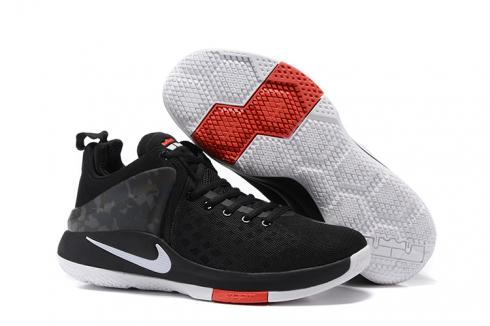e615429bcb523 Prev Nike Zoom Witness Lebron James Black Red Grey Basketball Shoes  884277-002
