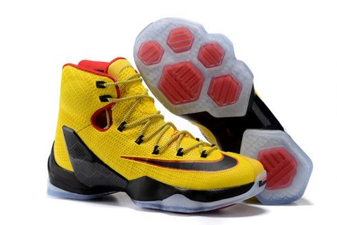 release date 614bd a3dca Prev Nike Lebron XIII Elite EP 13 James Men Basketball Shoes Yellow Black  Red 831924