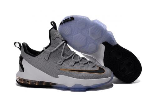 725dd42a7c6c Prev Nike Lebron XIII Low EP 13 James Men Basketball Sneakers Shoes Wolf  Grey Black Gold 831926