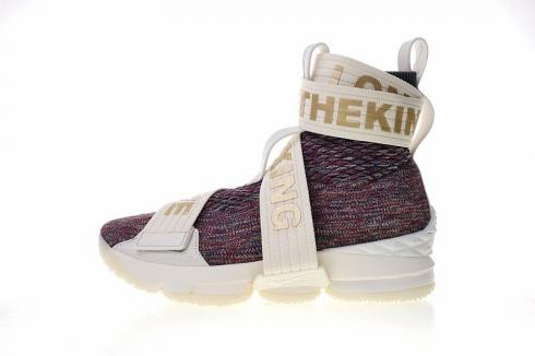purchase cheap 687c7 9012d Nike Lebron XV Lif Kith Stained Glass Color Multi AO1068-900