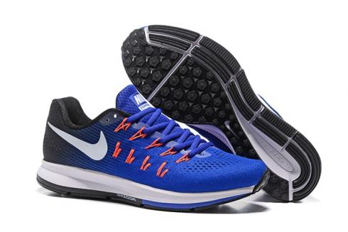análisis Precipicio participar  Nike Air Zoom Pegasus 33 Running Racer Blue White Navy Blue Glow Red  Sneakers Shoes 831352-401 - Sepsport