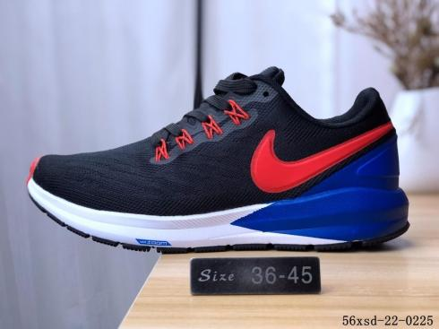 nike red blue shoes