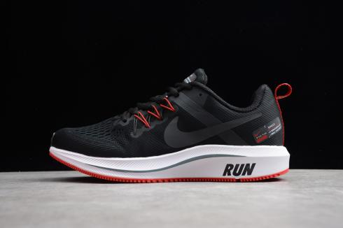 Nike Zoom Structure 15 Black Red 615588
