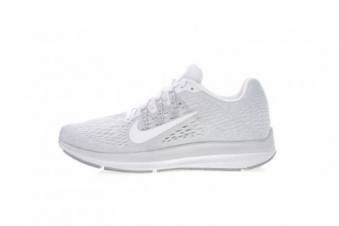 Mens Shoes Nike Air Zoom Winflo 5 White Grey AA7406 100 aa7406 100