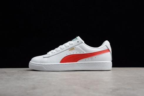Puma Heritage Basket Classic Sneakers Online White Red 354367-24 ...