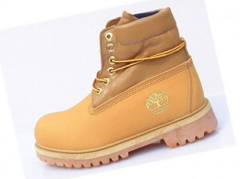 Timberland For Men Wheat Blue Roll top Boots