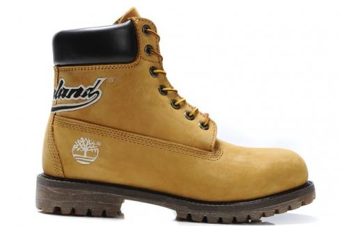 Timberland Mens 6 inch Basic Boots Rubber Sole