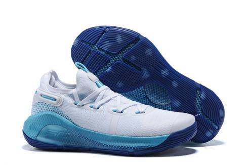 curry 6 blue and white off 55% - www