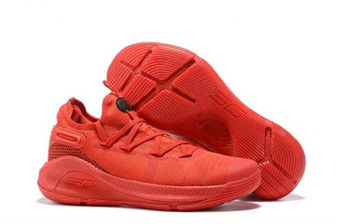 Under Armour Curry 6 Total Red Rage