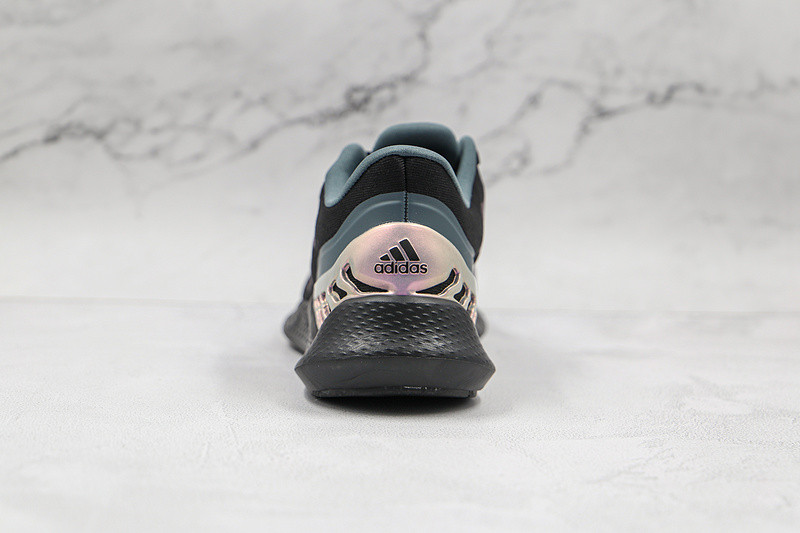 Adidas Climacool Core Black Purple Green Shoes FW1744