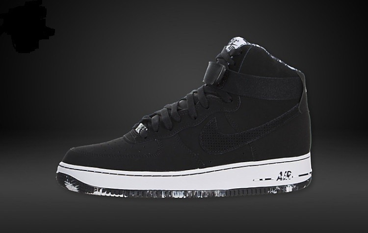promo code b8227 6f22f Prev Nike Air Force 1 High Black White Marble ...