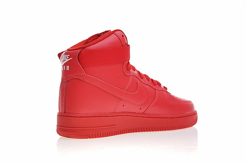 Nike Air Force 1 High ID Gym Red Casual Shoes AQ3771 991