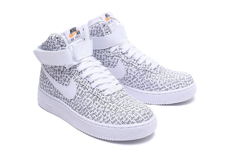 Nike Air Force 1 High LX Just Do It Pack Grey White AO5138 100