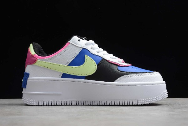 2020 Nike Air Force 1 Shadow White Sapphire Barely Volt Cj1641 100 Sepsport If you want something that is universally appealing, the air force 1 low is here to meet your needs. 2020 nike air force 1 shadow white sapphire barely volt cj1641 100