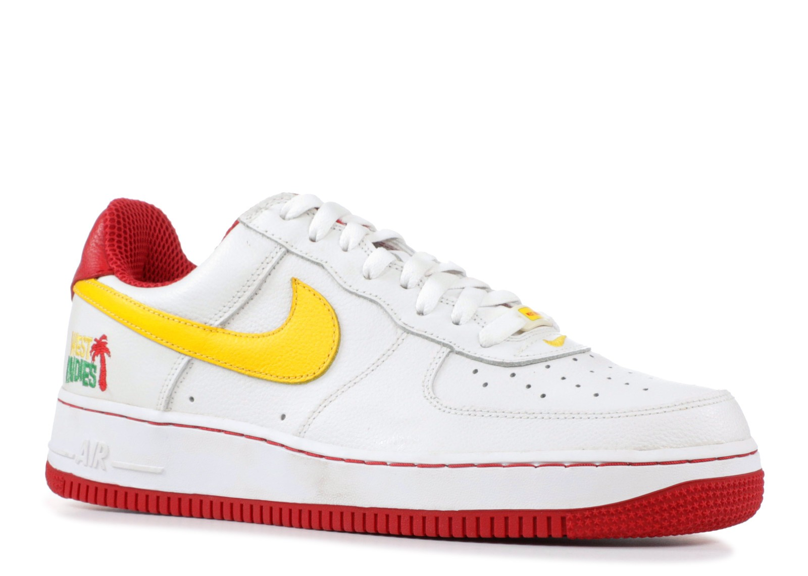Air Force 1 West Indies White Maize 3 Varsity Red 306353 171