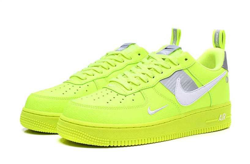 nike air force gialle fluo
