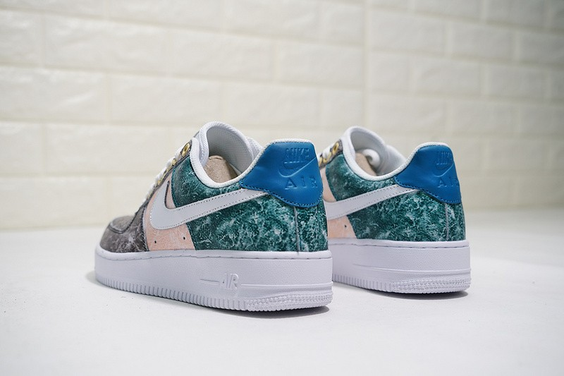 watch 04bf5 9cb88 ... Nike Air Force 1 07 LXX Low Summit White Oil Grey Pink Trainers AO1017-101  ...