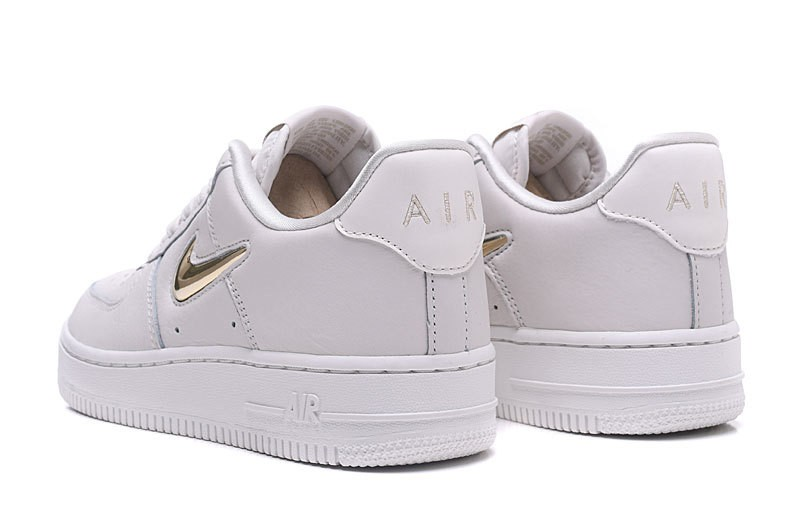sports shoes 6de2f c614a Nike Air Force 1 07 LX White Gold Womens AO3814-001