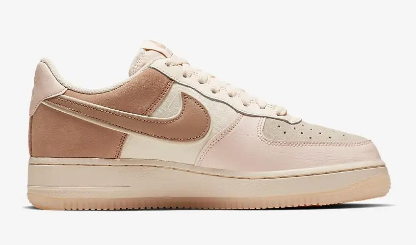 sélection premium 38195 a8b46 Nike Air Force 1 07 Low Premium Washed Coral Guava Ice Rose Gold 896185-603
