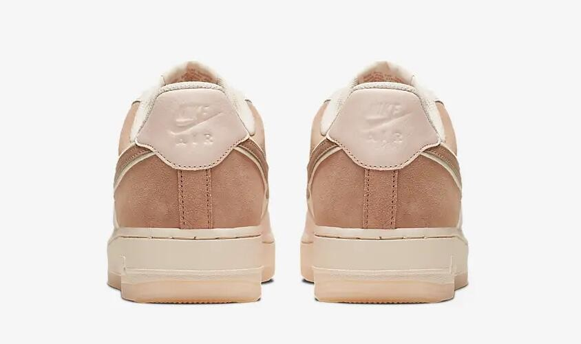 Nike Air Force 1 07 Low Premium Washed Coral Guava Ice Rose Gold 896185 603