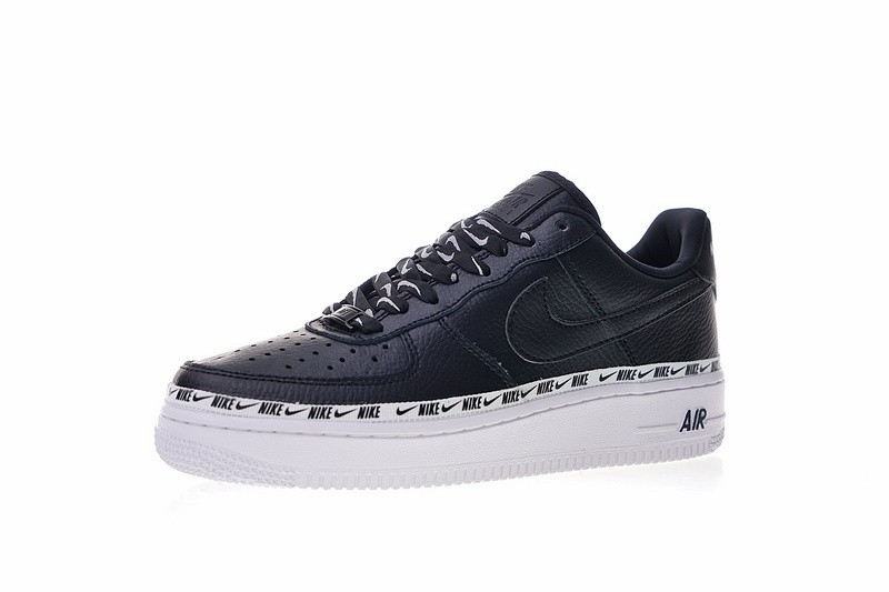 Nike Air Force 1 07 SE Premium Low Ribbon Pack Black AH6827 002