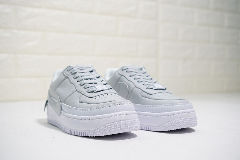 Nike Air Force 1 Jester XX Light Grey White Casual Shoes AO1220 100