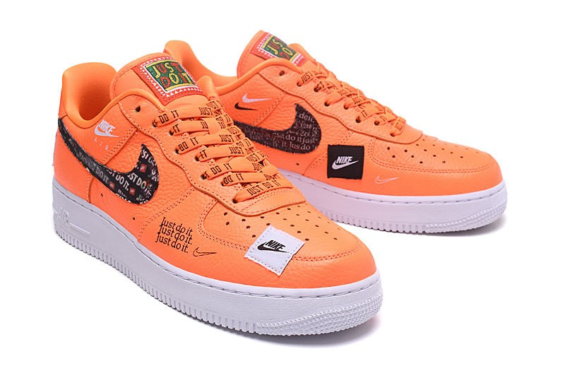 Nike Air Force 1 Low 07 Prm JDI Just Do It Orange Total AR7719 800