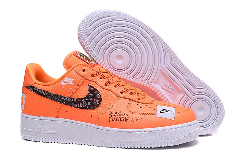 a84594498cc6 ... Nike Air Force 1 Low 07 Prm JDI Just Do It Orange Total AR7719-800 ...