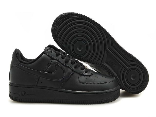 Nike Air Force 1 Low Black Unisex Casual Shoes 315122-001 - Sepsport 0085729e1