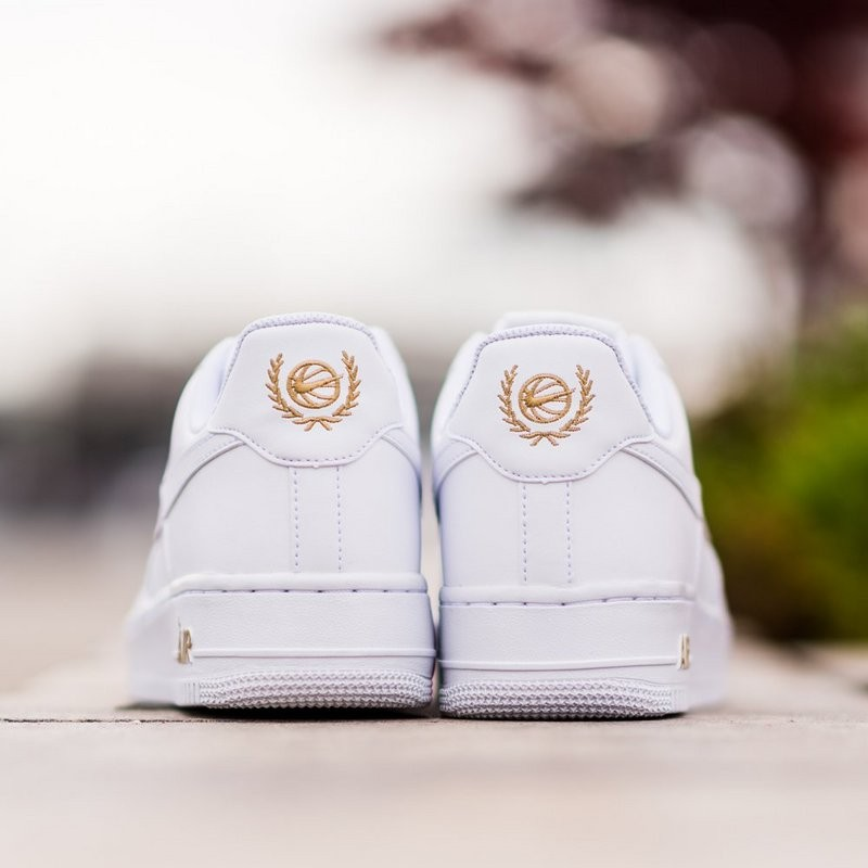 Nike Air Force 1 Low Crest Logo AA4083 102 Shoes for Sale
