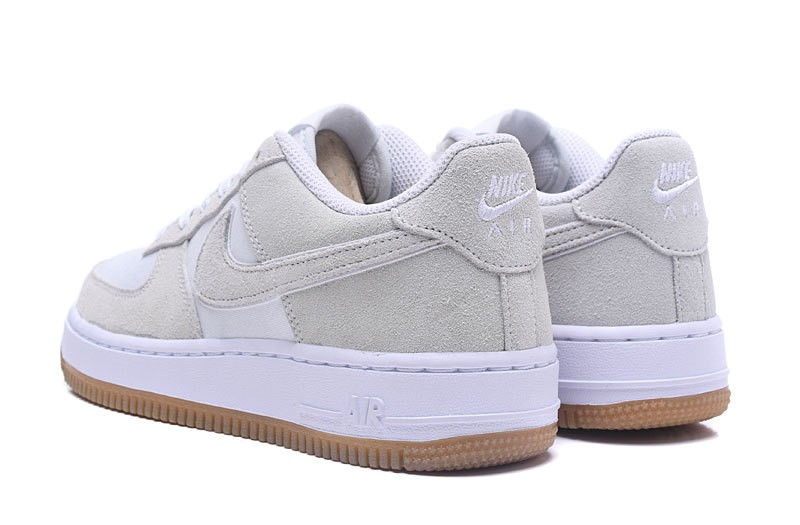 Nike Air Force 1 Low GS Off White Gum Lot 596728 101