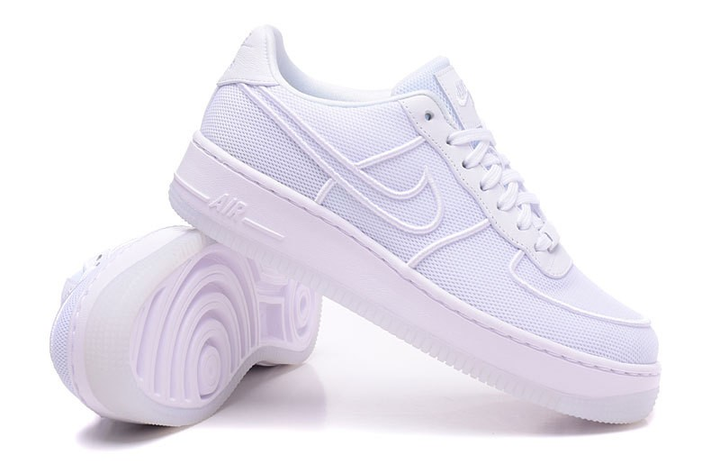 Nike Air Force 1 Low Upstep BR White Glacier Shoes 833123 101