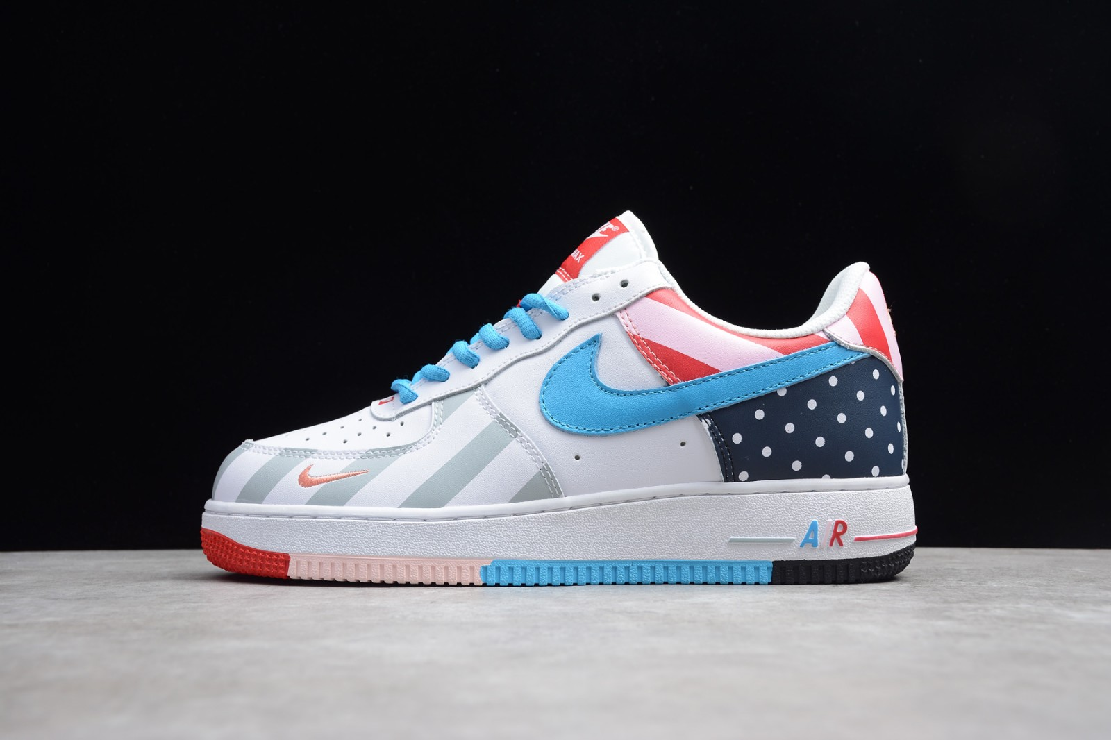 f819bc6bcf Nike Air Force 1 Parra White Multi Color Mens AH8462-100 - Sepsport