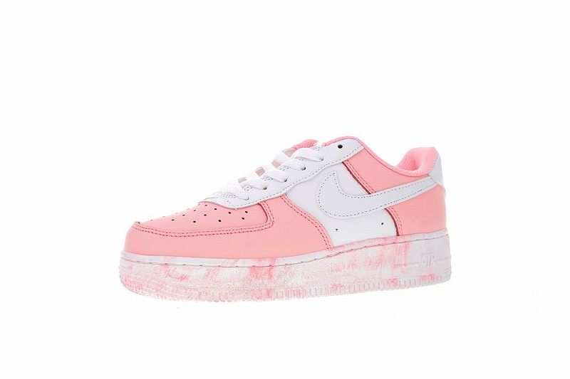 Women's Nike Air Force 1 Low PastelWhite 596728 031, New