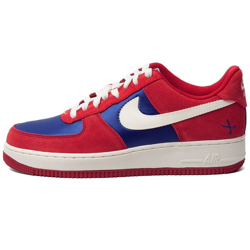 quality design 6e2ee 7ad39 Prev Nike Air Force 1 White Gym Red Dark Blue Running Shoes 488298-626