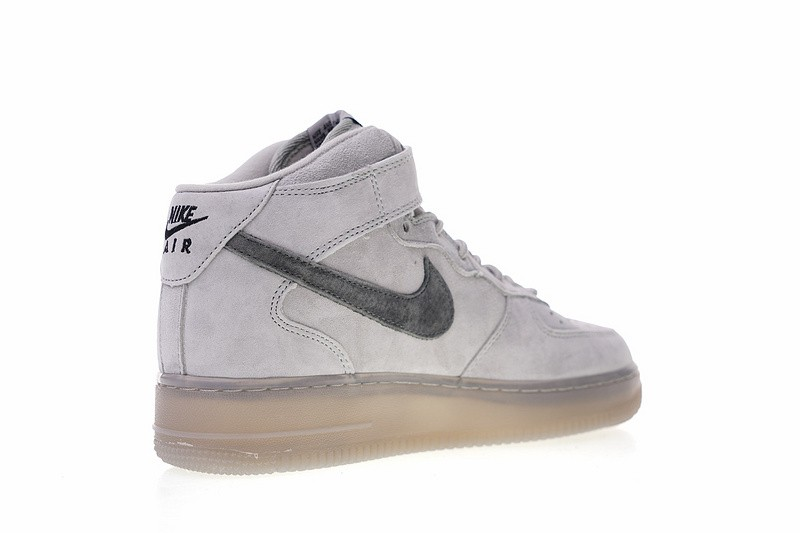 Reigning Champ x Nike Air Force 1 Mid 07 Light Grey Black 807618 208
