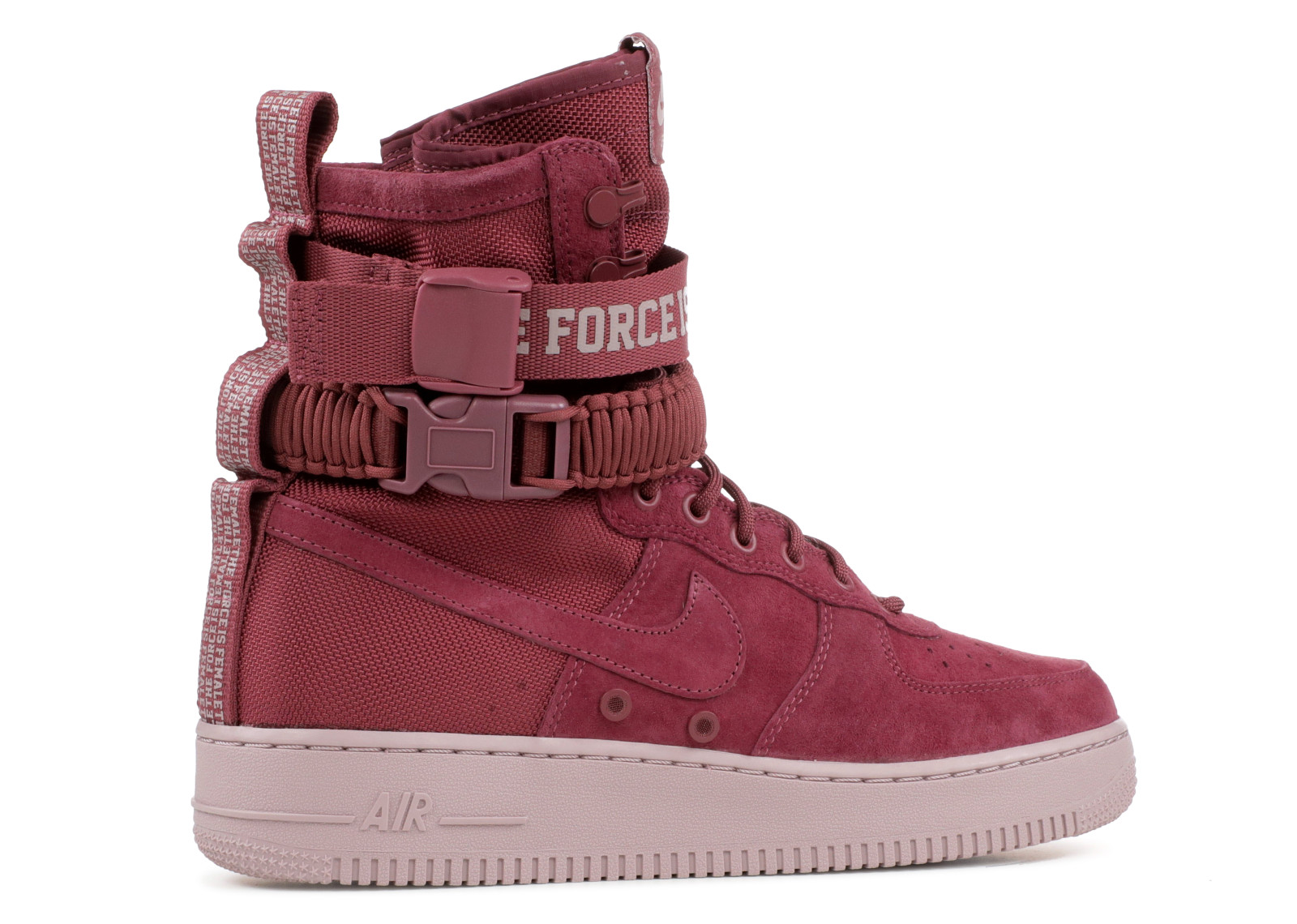 Nike Air Force 1 Special Force Vintage Wine Womens Boots AJ1700 600
