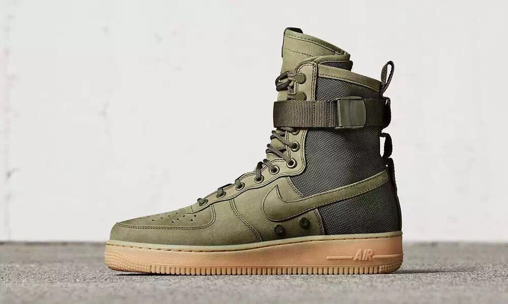 innovative design df2b0 a904f Prev Nike Air Force 1 Special Forces Faded Olive Green 859202-339. Zoom