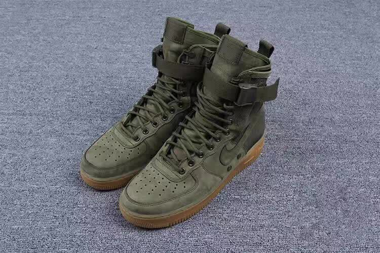 Special Force 1 339 Green Faded Nike Air Olive Forces