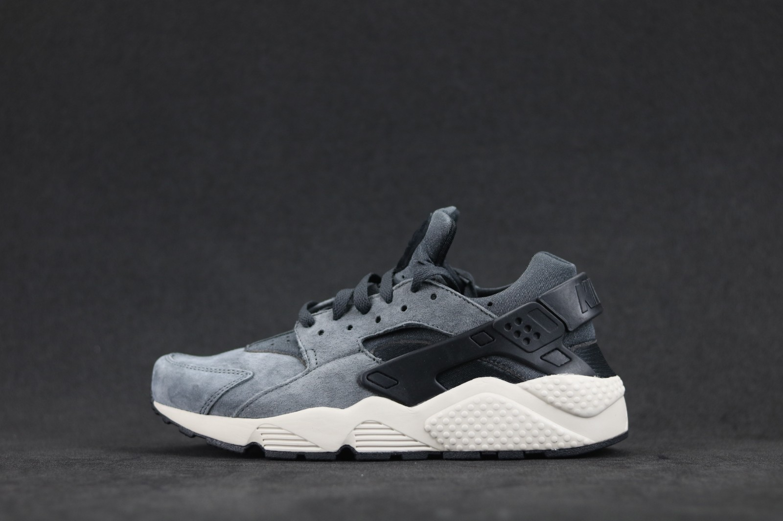 beb1a70aaeb5e Nike Air Huarache Run Premium Dark Grey 704830-016 - Sepsport
