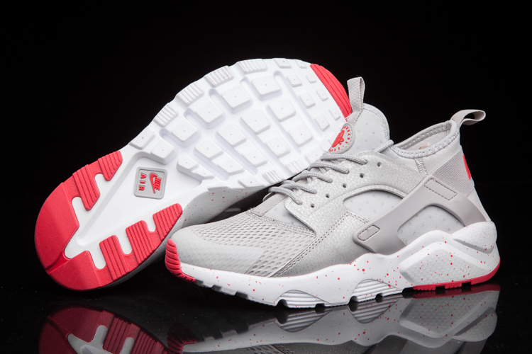 get cheap 16c2f 98768 Prev Nike Air Huarache Run Ultra BR Breeze Men Runner Trainers Silver Light  Grey Red 833147. Zoom