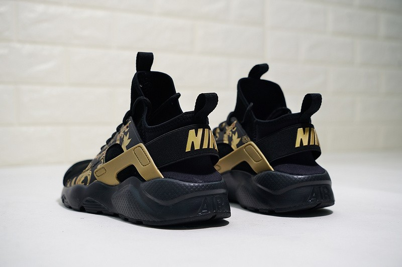 4474813f6e1c Nike Air Huarache Run Ultra ID Black Gold 829669-661 - Sepsport