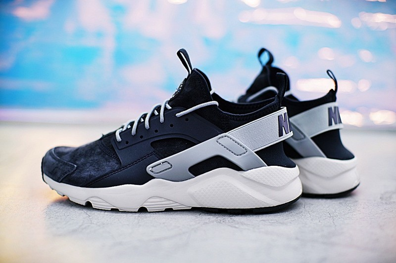 c818cced3acc Nike Air Huarache Run Ultra ID Custom Drak Blue Grey 829669-667 ...