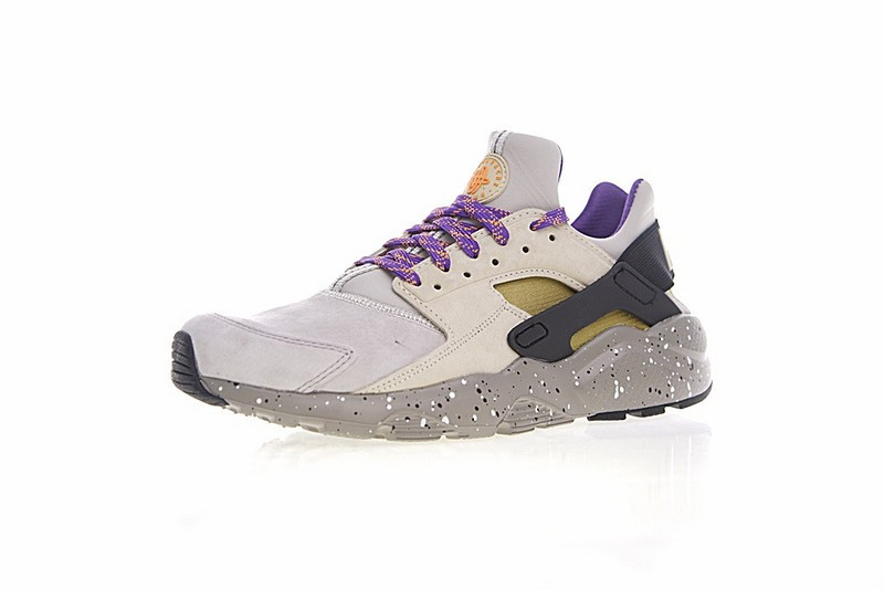 b83dd7d4aabe Nike Air Huarache Run Ultra ID Custom Purple Grey Black Colorful 829669-337  ...