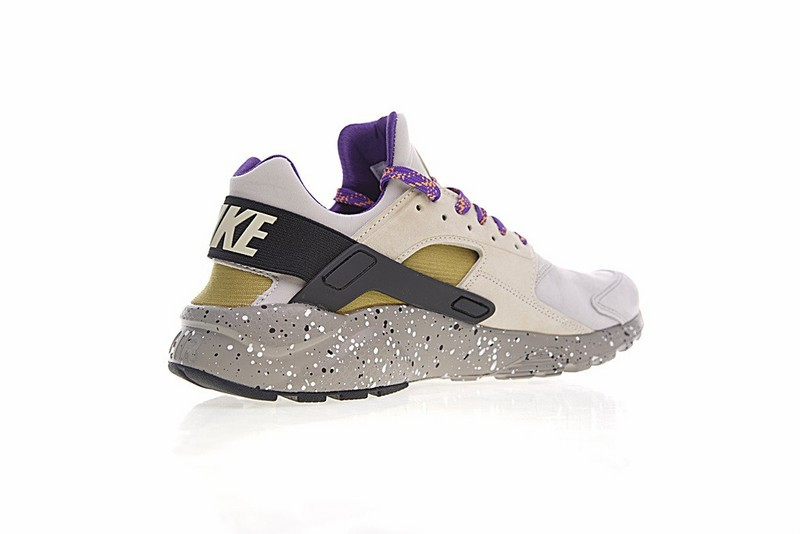 37a8dd62dbaf ... Nike Air Huarache Run Ultra ID Custom Purple Grey Black Colorful 829669-337  ...
