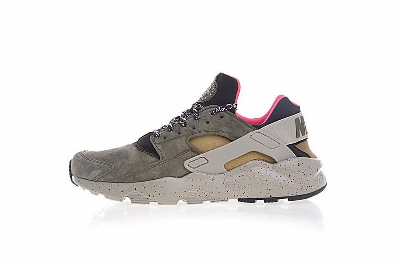 c506ee538181 Nike Air Huarache Run Ultra ID Moss Green Brown And Pink 829669-336 ...
